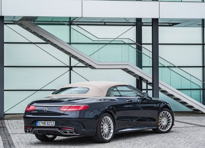 Mercedes-AMG S65 Cabriolet 2016 posterior tublogdecoches