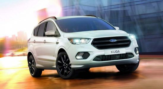 Ford Kuga ST-Line blanco vista frontal tublogdecoches 2016.jpg